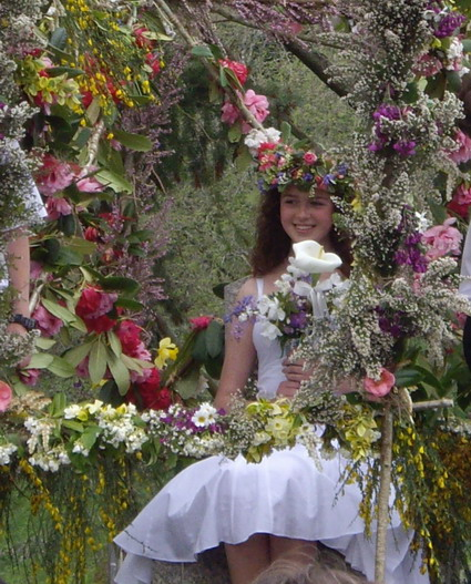 may queen, beltane, maypole, crowning