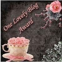 one lovely blog award image