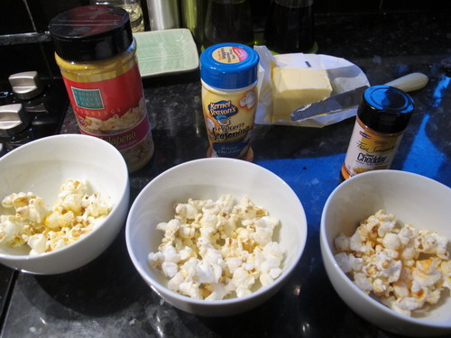 how to get flavor to stick to popcorn