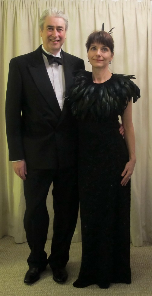 Dream for 2013 PartySteve Coxon Oscar-winning Screenwriter & Melinda Schwakhofer Renown Fibre Artist