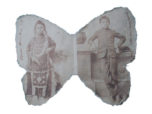 Chiricahua Apache, Carlisle Indian School - before and after, 8