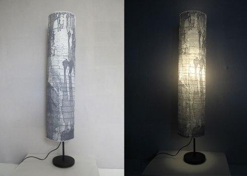 Southbank Shawos Lamp - 22 x 116 cm