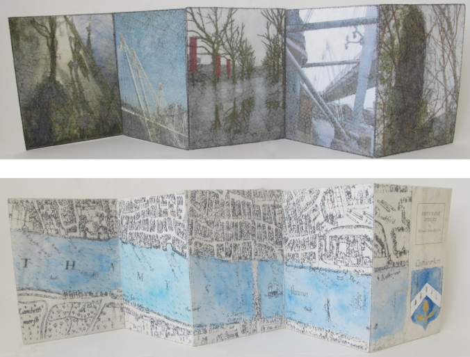 Southbank Stories Accordion Book -  21 x 75 cm