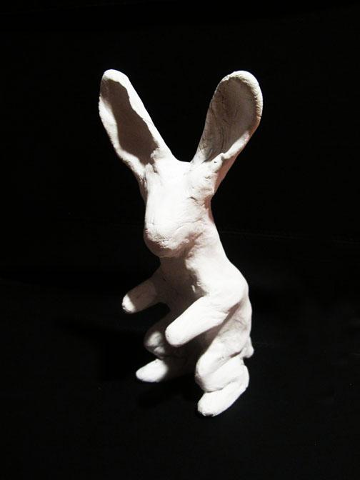 Chufi, 7 x 13 cm, clay.