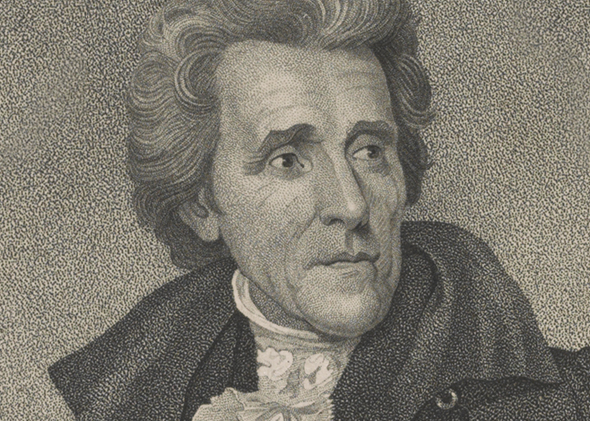 Andrew Jackson, the seventh president of the U.S.